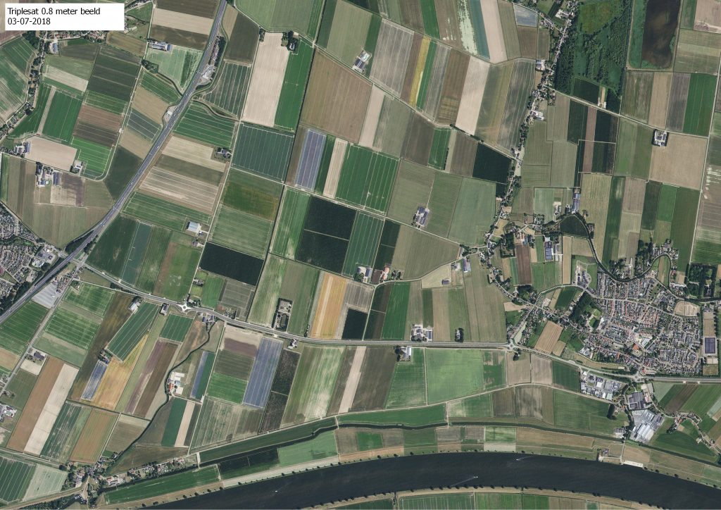 Satellietbeeld MDL agro precisielandbouw
